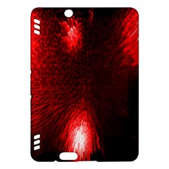 Box Lights Red Plaid Kindle Fire HDX Hardshell Case