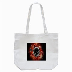 Cancel Cells Broken Bacteria Virus Bold Tote Bag (White)