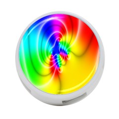 Complex Orange Red Pink Hole Yellow Green Blue 4 Port Usb Hub (two Sides)