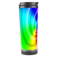 Complex Orange Red Pink Hole Yellow Green Blue Travel Tumbler