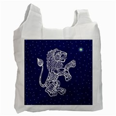 Leo Zodiac Star Recycle Bag (One Side)