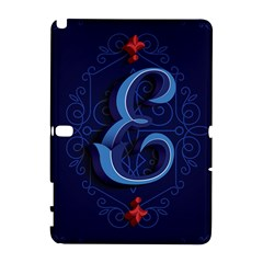 Marquis Love Dope Lettering Blue Red Alphabet E Galaxy Note 1