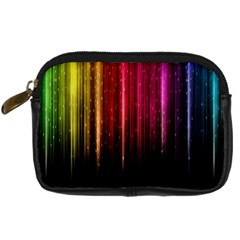 Rain Color Rainbow Line Light Green Red Blue Gold Digital Camera Cases