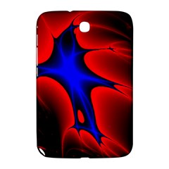 Space Red Blue Black Line Light Samsung Galaxy Note 8.0 N5100 Hardshell Case