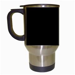 Pattern Travel Mugs (White)