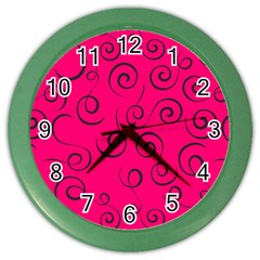 Pattern Color Wall Clocks