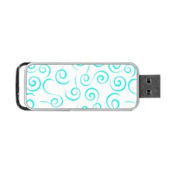 Pattern Portable Usb Flash (one Side)