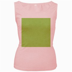 Pattern Women s Pink Tank Top