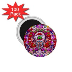 Hawaiian Poi Cartoon Dog 1 75  Magnets (100 Pack)
