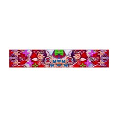 Hawaiian Poi Cartoon Dog Flano Scarf (mini)