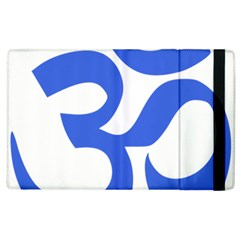 Hindu Om Symbol (Royal Blue) Apple iPad 2 Flip Case