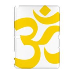 Hindu Om Symbol (Yellow) Galaxy Note 1