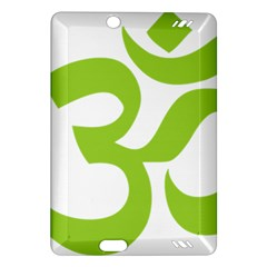 Hindu Om Symbol (Lime Green) Amazon Kindle Fire HD (2013) Hardshell Case