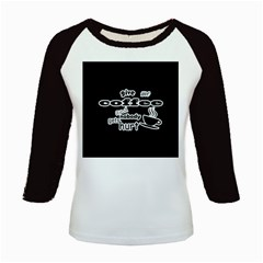 Give me coffee and nobody gets hurt Kids Baseball Jerseys