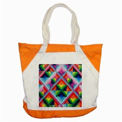 Rainbow Chem Trails Accent Tote Bag