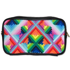 Rainbow Chem Trails Toiletries Bags 2 Side