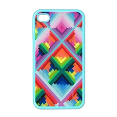 Rainbow Chem Trails Apple iPhone 4 Case (Color)
