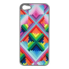 Rainbow Chem Trails Apple Iphone 5 Case (silver)