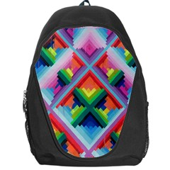 Rainbow Chem Trails Backpack Bag