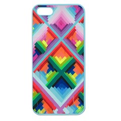 Rainbow Chem Trails Apple Seamless Iphone 5 Case (color)