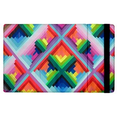 Rainbow Chem Trails Apple Ipad 2 Flip Case