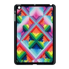 Rainbow Chem Trails Apple Ipad Mini Case (black)