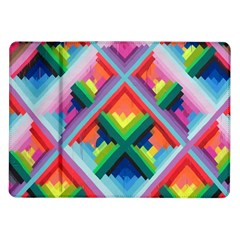 Rainbow Chem Trails Samsung Galaxy Tab 10.1  P7500 Flip Case