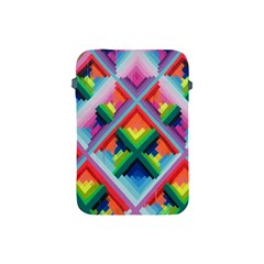 Rainbow Chem Trails Apple Ipad Mini Protective Soft Cases