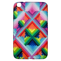 Rainbow Chem Trails Samsung Galaxy Tab 3 (8 ) T3100 Hardshell Case