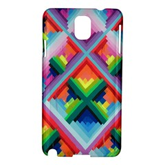 Rainbow Chem Trails Samsung Galaxy Note 3 N9005 Hardshell Case