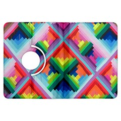 Rainbow Chem Trails Kindle Fire Hdx Flip 360 Case