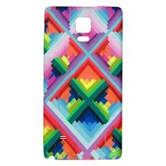 Rainbow Chem Trails Galaxy Note 4 Back Case
