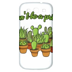 Cactus - Dont be a prick Samsung Galaxy S3 S III Classic Hardshell Back Case