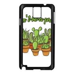Cactus - Dont be a prick Samsung Galaxy Note 3 N9005 Case (Black)