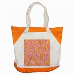 Abc Graffiti Accent Tote Bag