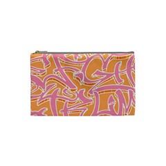 Abc Graffiti Cosmetic Bag (Small)