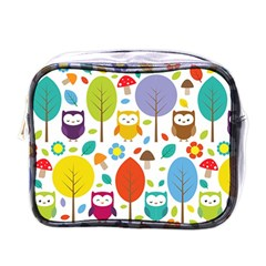 Cute Owl Mini Toiletries Bags