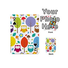 Cute Owl Playing Cards 54 (mini)