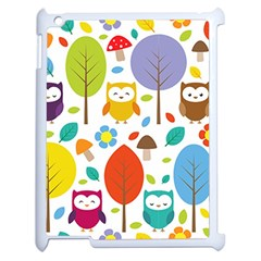 Cute Owl Apple Ipad 2 Case (white)