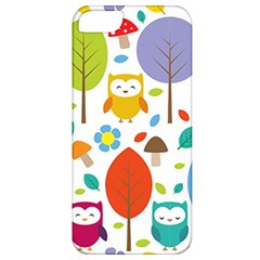 Cute Owl Apple Iphone 5 Classic Hardshell Case