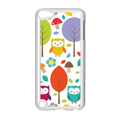 Cute Owl Apple iPod Touch 5 Case (White)