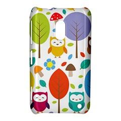 Cute Owl Nokia Lumia 620