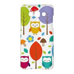Cute Owl Samsung Galaxy A5 Hardshell Case