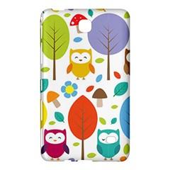 Cute Owl Samsung Galaxy Tab 4 (7 ) Hardshell Case