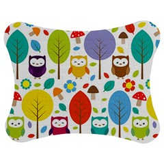 Cute Owl Jigsaw Puzzle Photo Stand (Bow)