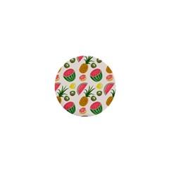 Fruits Pattern 1  Mini Buttons