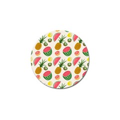 Fruits Pattern Golf Ball Marker