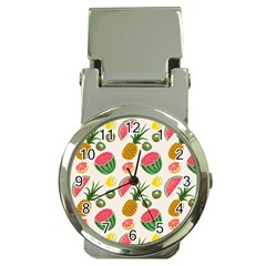 Fruits Pattern Money Clip Watches