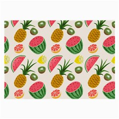 Fruits Pattern Large Glasses Cloth (2-Side)