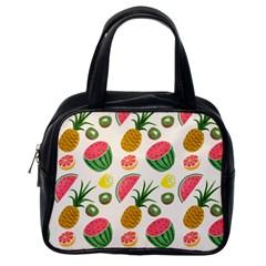 Fruits Pattern Classic Handbags (One Side)